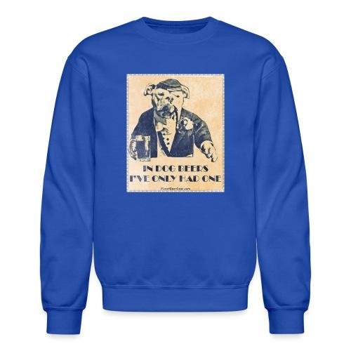 Vintage In Dog Years I've Only Had One Men's Crewneck Sweatshirt - Crewneck Sweatshirt