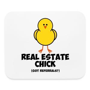 Real Estate Chick Pad - Mouse pad Horizontal