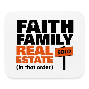 Faith Family Pad - Mouse pad Horizontal