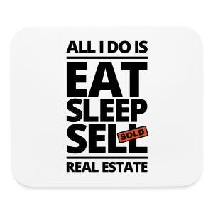 Eat Sleep Sell Pad - Mouse pad Horizontal