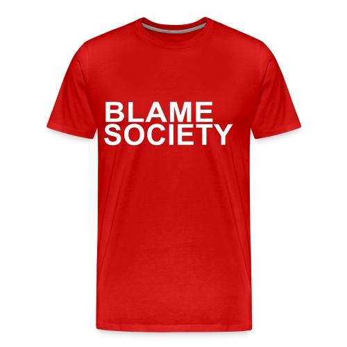 Blame Society  - Men's Premium T-Shirt