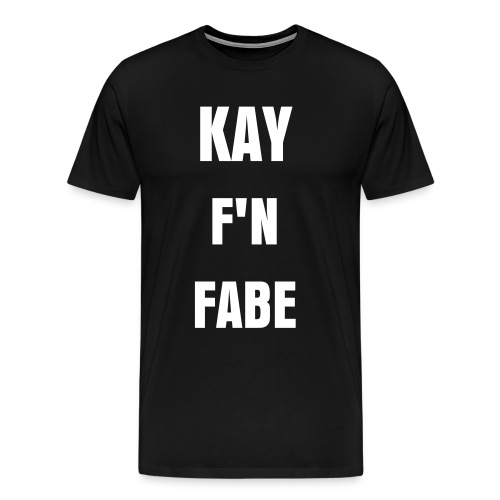 Mens KAYFABE - Men's Premium T-Shirt