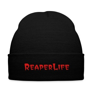 Reaper Cap - Knit Cap with Cuff Print