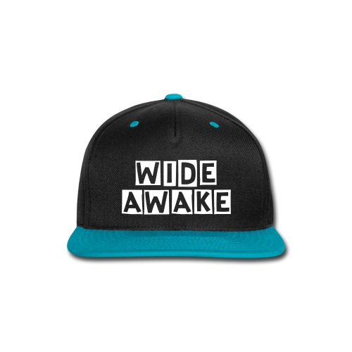 Wide Awake Snap Back - Snap-back Baseball Cap