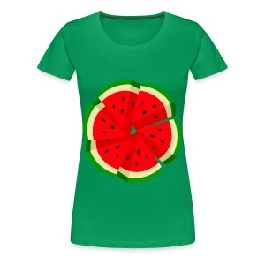 WaterMelon Art Shirt - Women's Premium T-Shirt