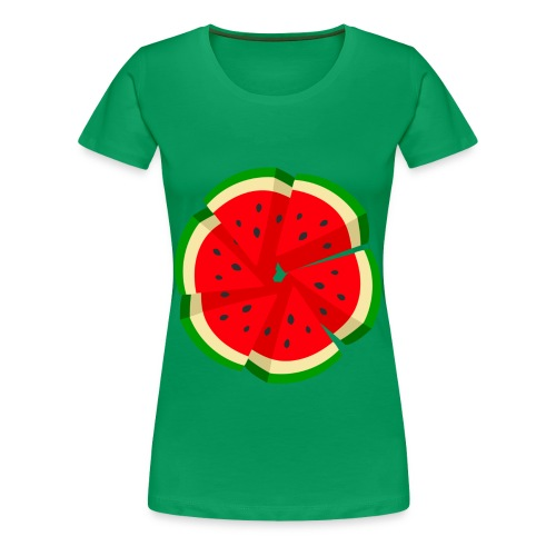 WaterMelon Art Shirt - Women's Premium T-Shirt
