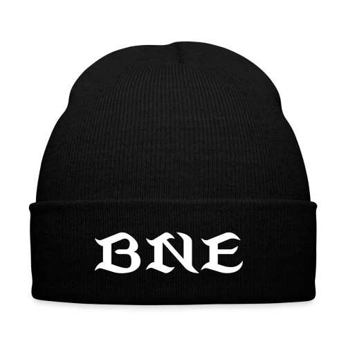 Bangin Noise Entertainment - Knit Cap with Cuff Print