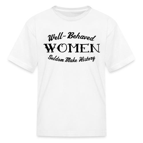 Well-Behaved Kids' T-Shirt - Kids' T-Shirt