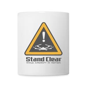 StandClear HexaCupper White - Coffee/Tea Mug