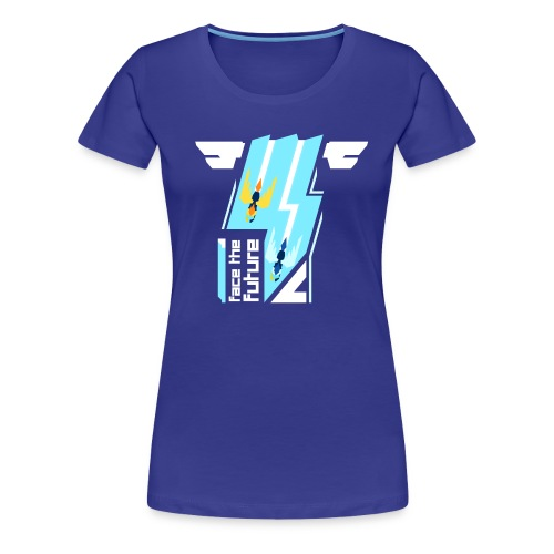 Face The Future Girl Cut - Women's Premium T-Shirt