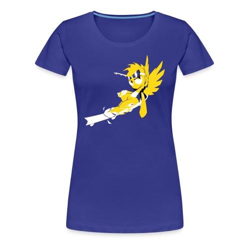 Jet Set Spitfire Girl Cut - Women's Premium T-Shirt