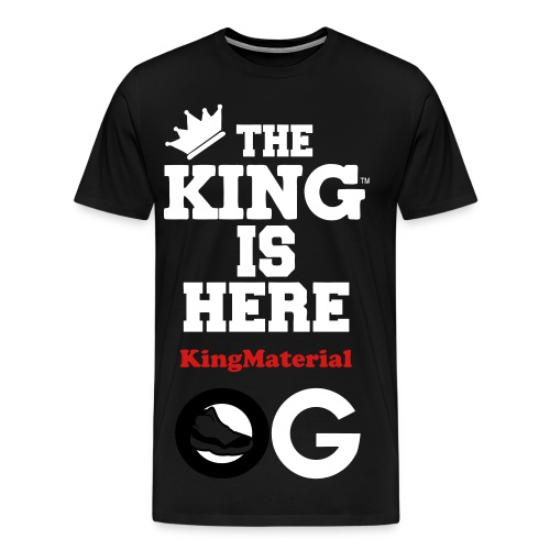TheKing - Men's Premium T-Shirt
