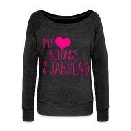 Long Sleeve Shirts ~ Women's Wideneck Sweatshirt ~ Jarhead