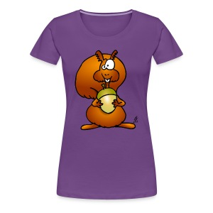 Squirrel Women's T-Shirts - Women's Premium T-Shirt
