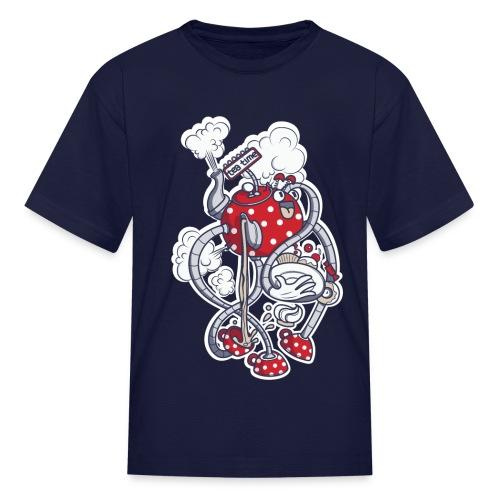 Kids' T-Shirt - time,tea,t-shirt,kid,funny,fun,cool