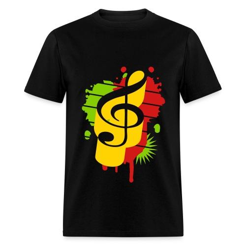 Kashdown - Rasta Music  - Men's T-Shirt