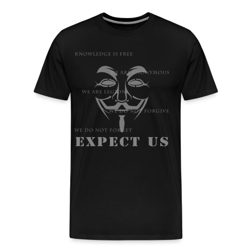 Expect Us - Men's Premium T-Shirt
