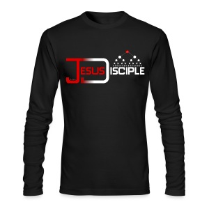 Jesus Disciple (for dark tees) | HEartHeaven - Men's Long Sleeve T-Shirt by Next Level