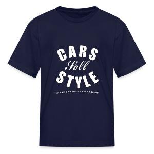 Kids T-Shirt   Cars Sell Style   Classic American Automotive - Kids' T-Shirt