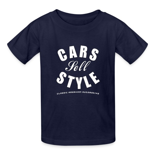 Kids T-Shirt | Cars Sell Style | Classic American Automotive - Kids' T-Shirt