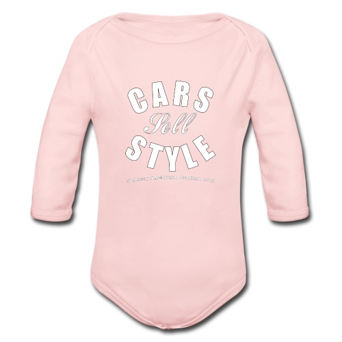 Baby Long Sleeve One Piece | Cars Sell Style | Classic American Automotive - Organic Long Sleeve Baby Bodysuit