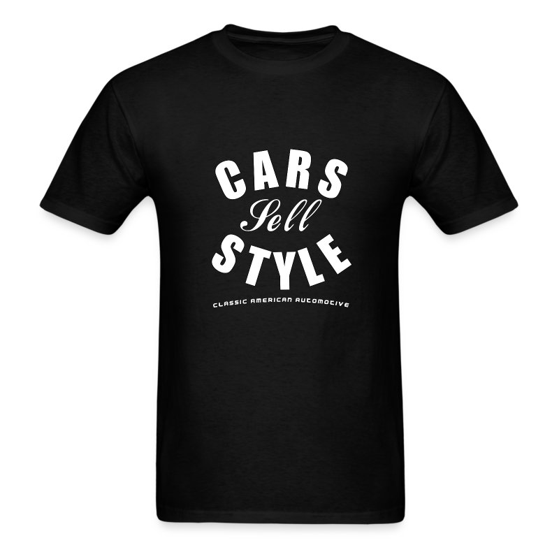 Gildan T-shirt | Cars Sell Style | Classic American Automotive - Men's T-Shirt