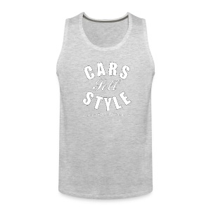 Men's Premium Tank Top | Cars Sell Style | Classic American Automotive  - Men's Premium Tank