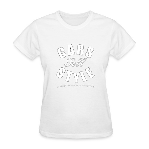 Women's T-Shirt | Cars Sell Style | Classic American Automotive - Women's T-Shirt