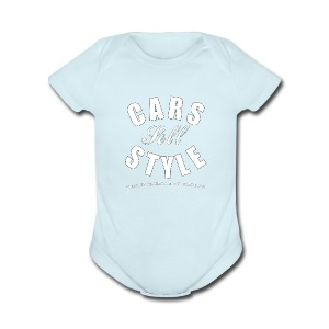 Baby Short Sleeve One Piece   Cars Sell Style   Classic American Automotive - Short Sleeve Baby Bodysuit