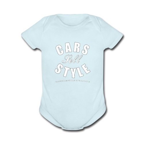 Baby Short Sleeve One Piece | Cars Sell Style | Classic American Automotive - Organic Short Sleeve Baby Bodysuit