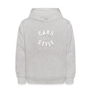 Kids' Hooded Sweatshirt   Cars Sell Style   Classic American Automotive - Kids' Hoodie