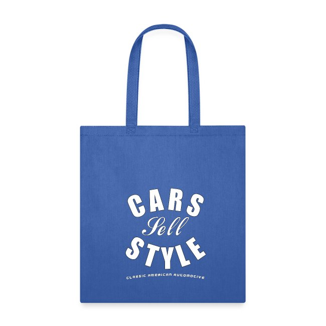 Tote Bag | Cars Sell Style | Classic American Automotive