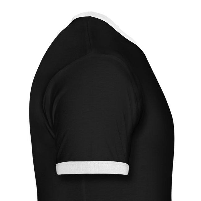 Mens Ringer T-shirt (Black)