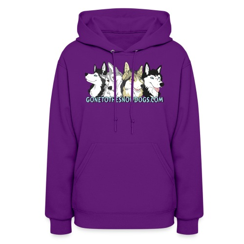 Gone to the Snow Dogs - Women's Hoodie - Women's Hoodie