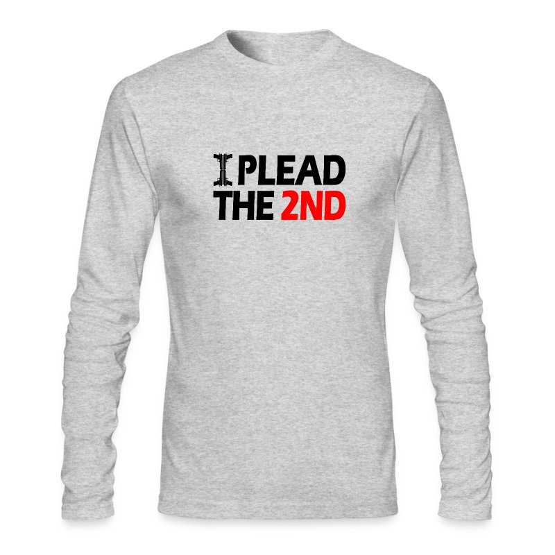 Long Sleeved: Pleading The Second! - Men's Long Sleeve T-Shirt by Next Level