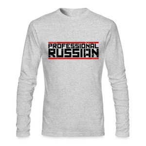 Long Sleeved: Pro Russian - Men's Long Sleeve T-Shirt by Next Level