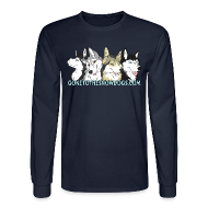 Long Sleeve Shirts ~ Men's Long Sleeve T-Shirt ~ Gone to the Snow Dogs - Men's Long Sleeved