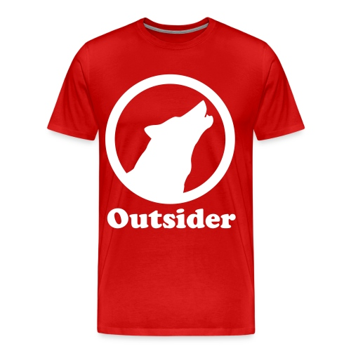 Outsider Wolf - Men's Premium T-Shirt