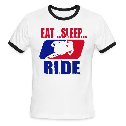 eatsleepride - Men's Ringer T-Shirt