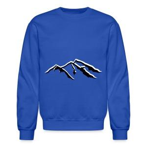Snow Mountains  - Uni-Sex Crewneck - Crewneck Sweatshirt