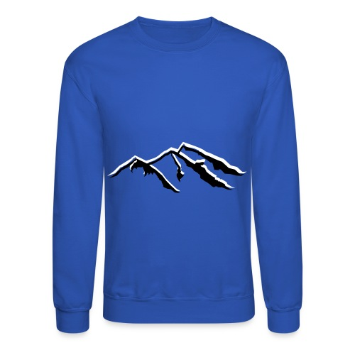 Snow Mountains  - Uni-Sex Crewneck - Crewneck Sweatshirt