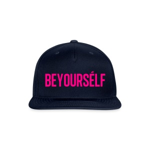 Beyourself cap - Snap-back Baseball Cap