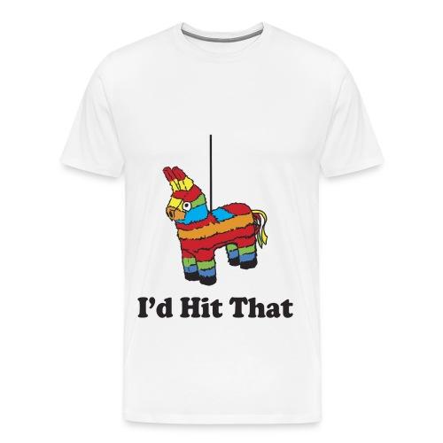 Men's Premium T-Shirt - I'd hit that