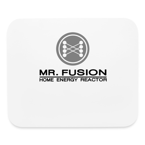 Mr. Fusion Mouse Pad - Mouse pad Horizontal