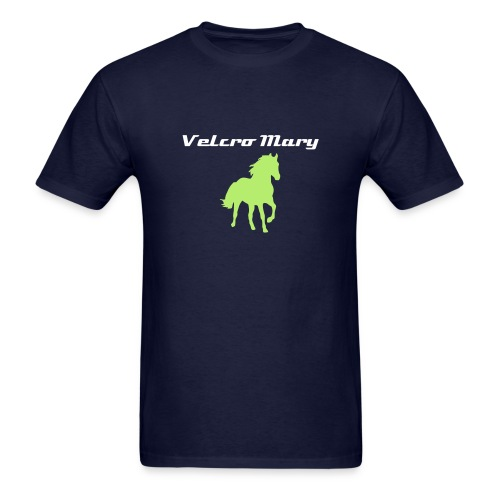 Pale Green Horse (Men's Regular) - Men's T-Shirt