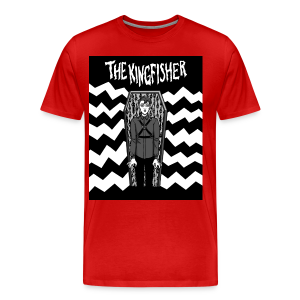 Kingfisher - Expressionist - BLACK + WHITE SHIRT - Men's Premium T-Shirt