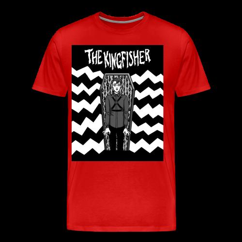 Kingfisher - Expressionist - BLACK + WHITE SHIRT - Men's Premium T-Shirt
