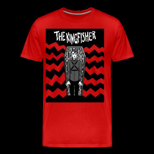 Kingfisher - Expressionist - NOT BLACK shirt - Men's Premium T-Shirt