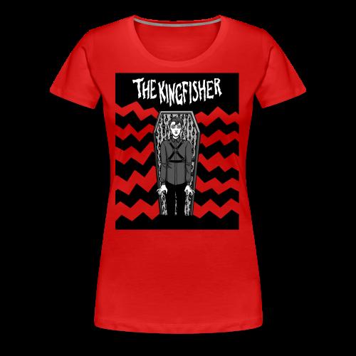 Kingfisher 4 laydeez - Expressionist - NOT BLACK shirt - Women's Premium T-Shirt