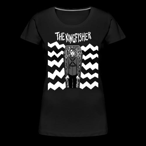Kingfisher 4 laydeez - Expressionist - BLACK shirt - Women's Premium T-Shirt
